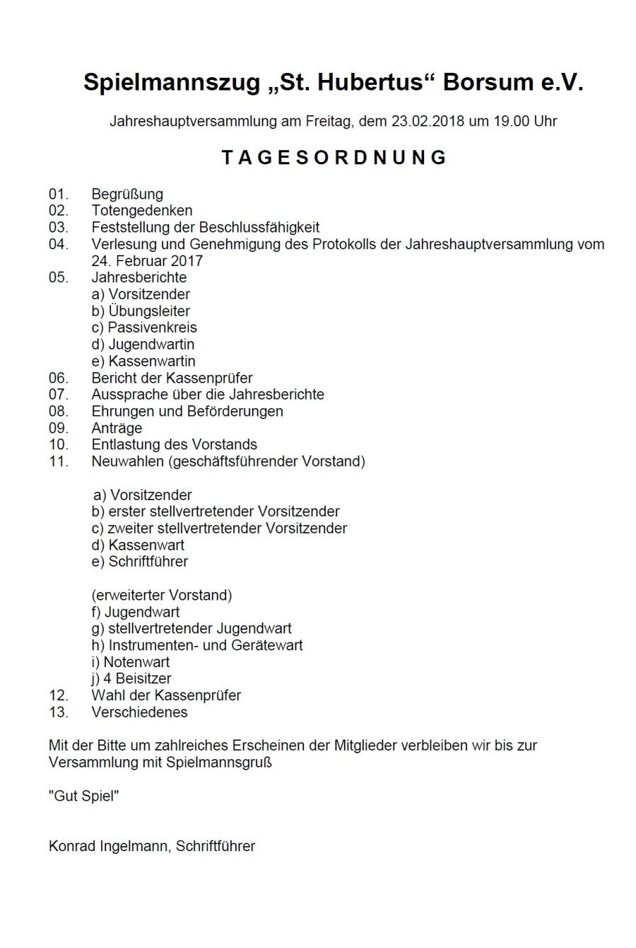 Jahreshauptversammlung-2018-Tagesordnung